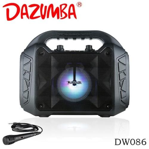 Foto Produk Dazumba DW086 Portable Speaker Bluetooth - Hitam dari Dazumba Official Store