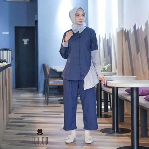 Foto Produk Best Seller alifa set 2in1 / setelan / jual baju murah grosir dari GStyle Outfit