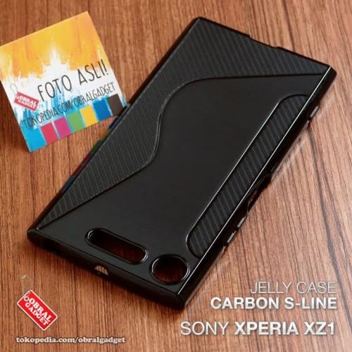 Foto Produk Soft Jelly Case Sony Xperia XZ1 Softcase Silikon Silicon Casing Cover dari Obral Gadget