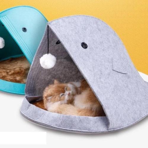 Foto Produk Tempat tidur anjing / kucing Pets bed Dog bed portable mudah di bawa - grey dari laris_88 computer