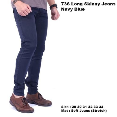 Foto Produk celana panjang jeans pria navy / celana pria jeans panjang navy blue - Navy, 30 dari Brotherholicstore