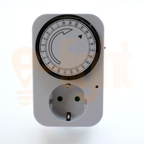 Foto Produk Stop Kontak Timer 24 Jam Analog Kaiser dari e-light