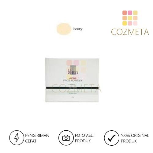 Foto Produk Bless Refill Acne Face Powder Natural 25 gr Refill Bedak - Ivory dari Cozmeta