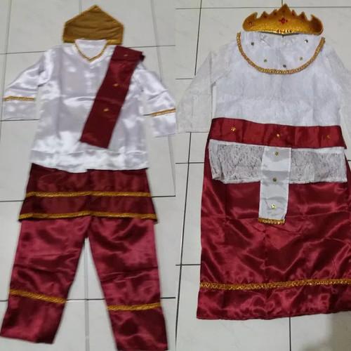 Foto Produk Baju adat lampung anak pakaian sumatra Lk/Pr - LAKI, S dari Kanaya_Collection