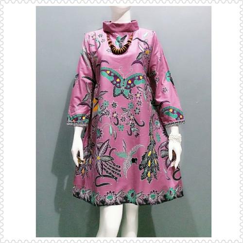 Foto Produk Tunik jumbo batik kantor wanita dari Batik Sri