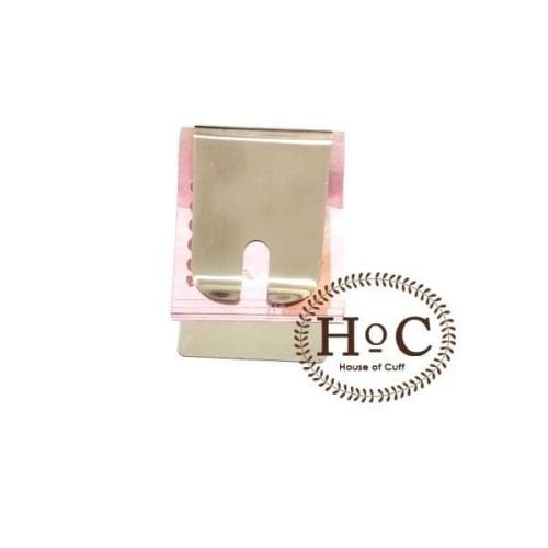 Foto Produk Houseofcuff Dompet Money Clip Pria STEEL MONEY CLIP BIG - silver dari House of Cuff