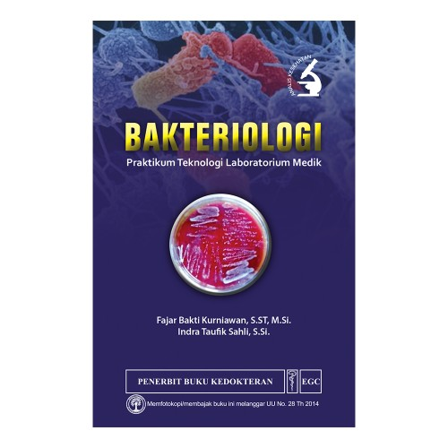 Foto Produk EGC Bakteriologi Praktikum Teknologi Laboratorium Medik dari PENERBIT EGC
