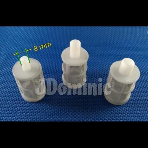 Foto Produk Saringan air 8mm - water filter pompa DC 12volt strainer dari Jdominic