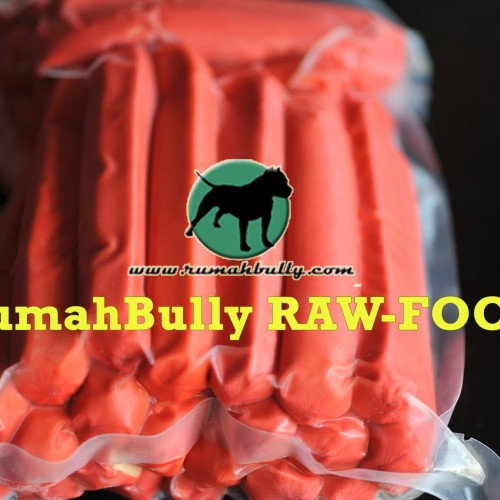 Foto Produk RawFood/DogFood/CatFood/Treat/Meat Sosis Sapi/Beef Sosis Coctail dari RumahBully