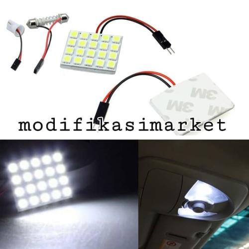 Foto Produk LAMPU LED PLAFON KABIN 20 SMD SUPER TERANG dari Modifikasi Market