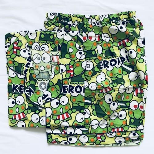Foto Produk baju tidur piyama dewasa keropi/tsum celana pendek 225 dari toko mantap999
