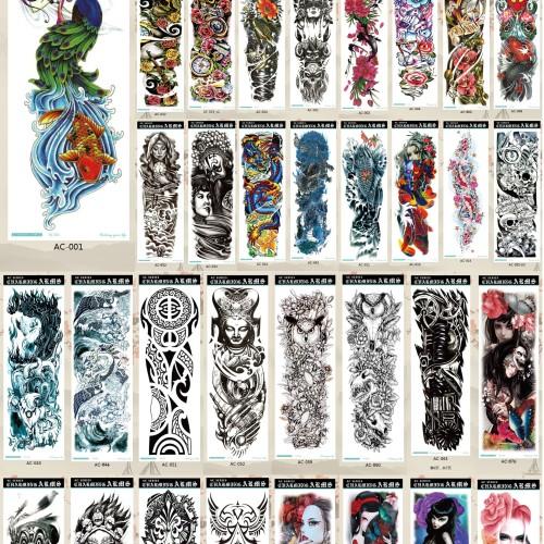 Foto Produk Tato/Tatto temporary/Tatto temporer/Tatto full lengan 17x46 AC dari Abadi Foto