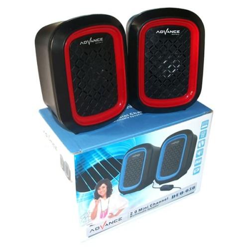 Foto Produk Advance Duo-050 Speaker - Merah dari Palugada Distribusi