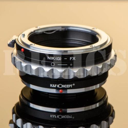 Foto Produk K&F Adapter Nikon Lens To Fuji Mirrorless dari Relics Store