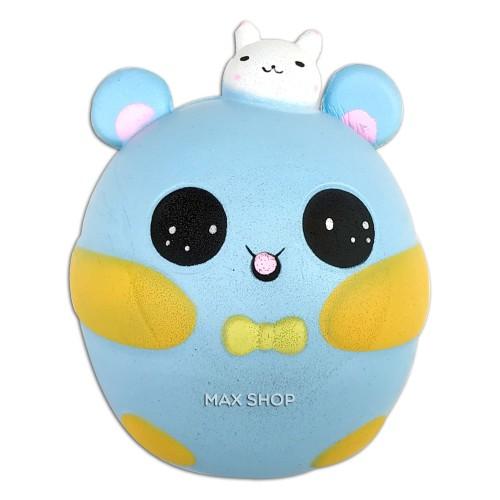 Foto Produk Squishy Baby Shine Bear Biru - Mainan Anak Anti Stress dari MAXSHOP-ONLINE