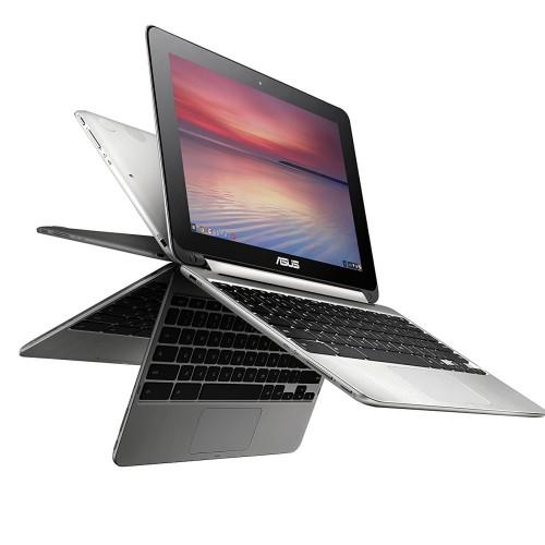 "Foto Produk ASUS C100PA 10.1"" Touch Chromebook Flip, Rockchip 1.8GHz, 4GB, 16GB dari HOKIKU STORE"