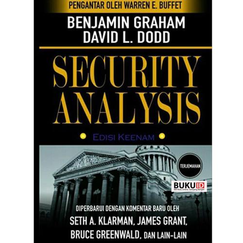 Foto Produk Buku Security Analysis: Sixth Edition by Benjam Graham - Terjemahan dari Buku ID