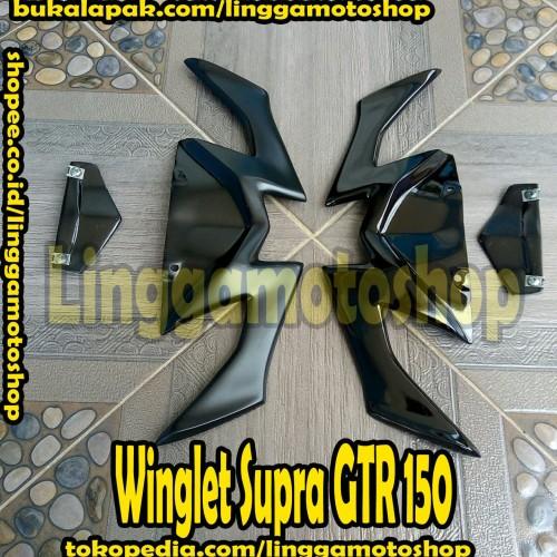 Foto Produk winglet variasi honda supra GTR 150 dari linggamotoshop