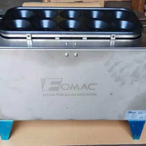 Foto Produk Kompor Sostel Panggangan Sosis Telur Fomac Egg Roll ERM GQ 10 lubang dari Tirta Houseware