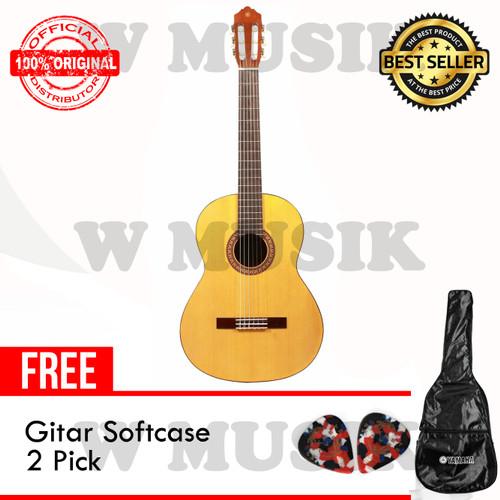 Foto Produk Yamaha Gitar Klasik C-315 / C 315 / C315 - Natural + Softcase & 2 Pick dari W Musik