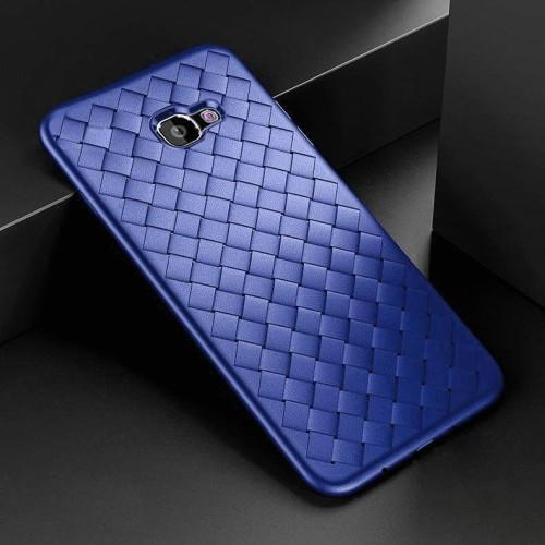 Foto Produk WOVEN case Samsung J5 Prime - J7 Prime soft cover casing tpu leather - Merah, J7 PRIME dari Casing handphone murah