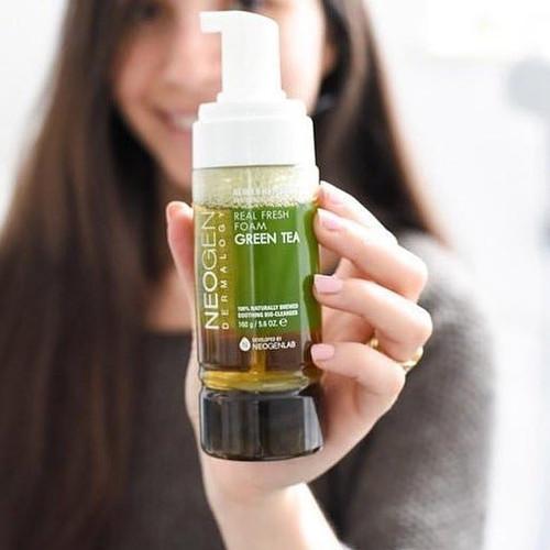 Foto Produk NEOGEN Green Tea Real Fresh Foam Cleanser Vol : 120g dari koreaneonni_