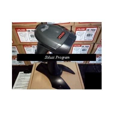 Foto Produk Promo BARCODE Scanner LASER -USB-With Stand-tanpa pencet-High Sensitif dari solusiprogramcom