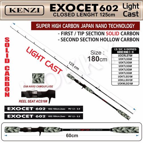 Foto Produk JORAN KENZI EXOCET LIGHT CASH 602 PE 1.5-2.5 dari hokky fishing