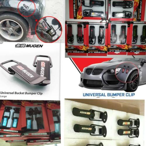 Foto Produk Universal Klip Large MUGEN Quick Release Bumper Clip Bemper Besar dari varcityshop