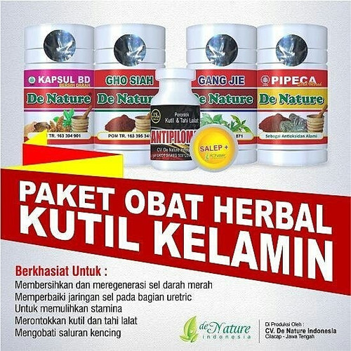 Foto Produk paket obat kutil kelamin de nature #paket 1 dari Herbal de Nature