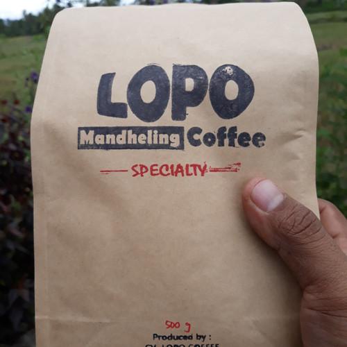 Foto Produk Mandheling Coffee | MANDHELING ROASTED BEAN dari LOPO Mandheling Coffee