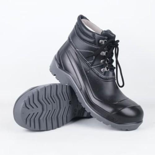 Foto Produk Sepatu Safety AP MAX By AP Boots Low Safety Boot Sepatu Pria Outdoor - Hitam, 41 dari lbagstore