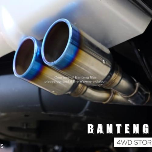 Foto Produk HKS Muffler For Pajero Sport 2015 / W-Tail dari Banteng Mas
