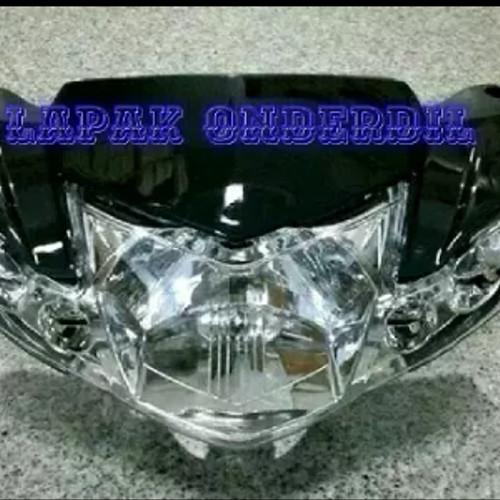 Foto Produk batok kepala depan belakang vega r new plus reflektor lampu sen hitam dari ONDERDIL MOTOR PEDIA