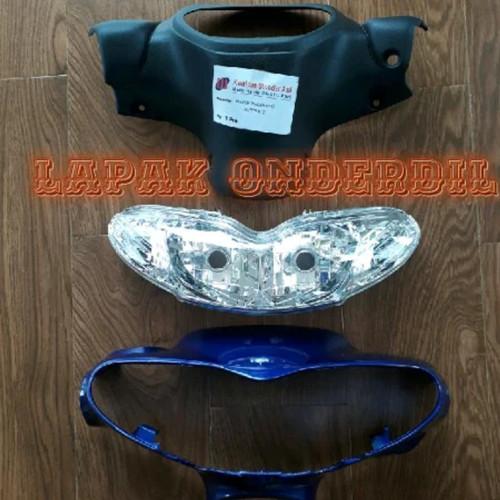 Foto Produk batok kepala depan belakang jupiter z lama plus reflektor lampu depan dari ONDERDIL MOTOR PEDIA