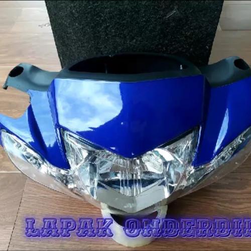 Foto Produk batok kepala depan belakang vega r new plus reflektor lampu sen biru dari ONDERDIL MOTOR PEDIA