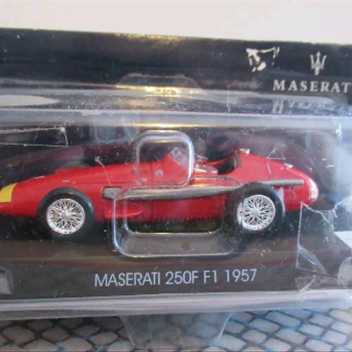 Foto Produk MAGAZINE ISSUE 1/43 MASERATI 250F F1 1957 dari herjun