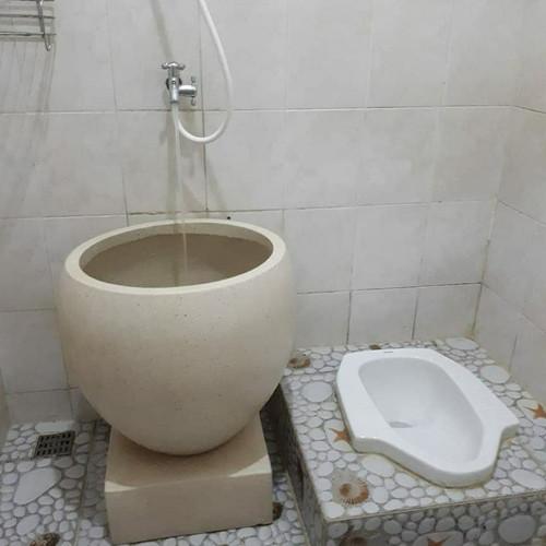 Foto Produk Bak mandi bakul bali marmer glossy riqwes pak wibowo dari bak mandi n potminimalis