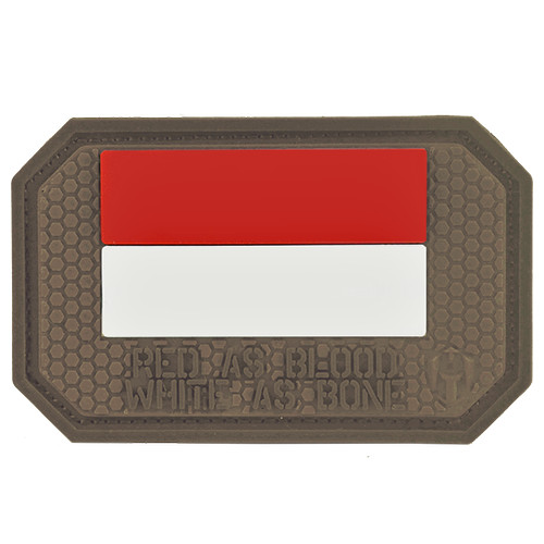 Foto Produk MOLAY RED AS BLOOD WHITE AS BONE Patch - COYOTE TAN dari Molay
