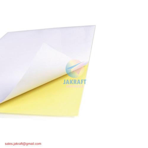 Foto Produk Kertas Stiker Sticker HVS A4 Doft Doff Putih Polos High Quality FASTAC - ARTOS dari Jakraft Indonesia