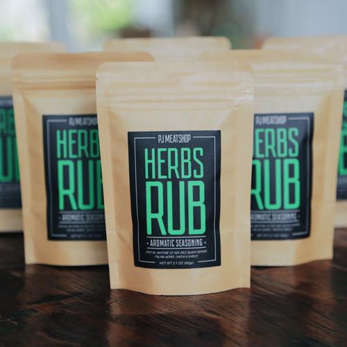 Foto Produk PJ's Aromatic Seasoning - HERBS RUB dari PJ Meat Shop