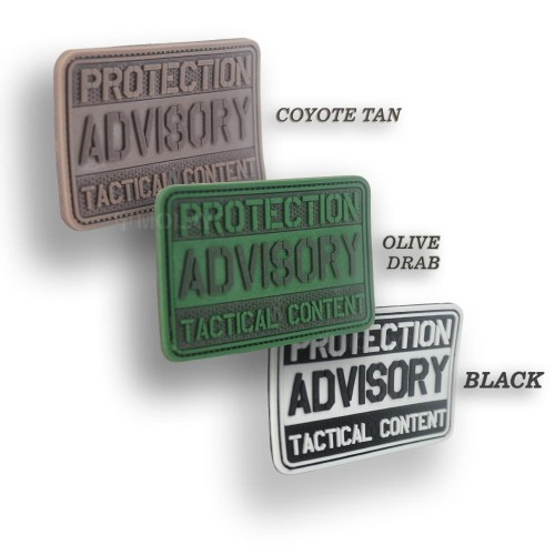 Foto Produk MOLAY PROTECTION ADVISORY TACTICAL CONTENT Patch - OLIVE DRAB dari Molay