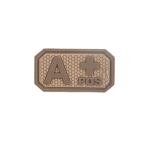 Foto Produk MOLAY BLOOD TYPE Patch - A COYOTE TAN dari Molay