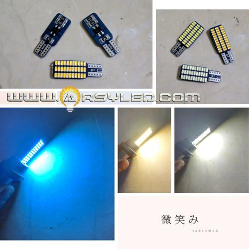 Foto Produk Lampu LED T10 Plafon Kabin Mobil 3014 33 titik 1 sisi super bright - Putih dari arsystore