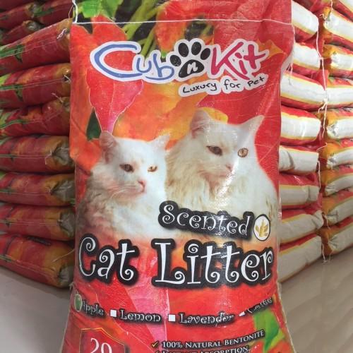 Foto Produk Pasir kucing - Cubnkit 20kg / Pasir gumpal wangi - 20kg, Random dari Kucingbilly