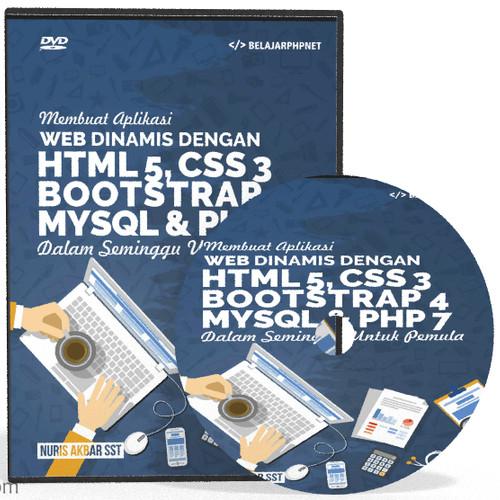 Foto Produk DVD Tutorial Membuat Aplikasi Dinamis Web Dinamis dari Tutorial Pemrograman