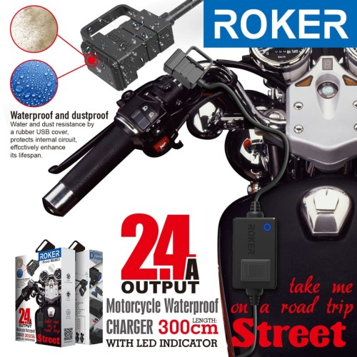 Foto Produk Charger Roker Street 2.4A dari Roker Official Store