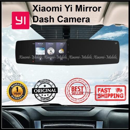 Foto Produk Xiaomi Yi Mirror Dash Camera Rear and Front Dashcam 1080P 30FPS dari Xiaomi