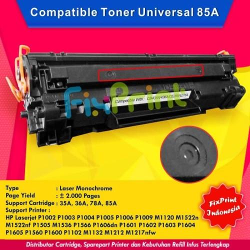 Foto Produk Toner Cartridge Compatible HP 35a Cb435a Printer p1005 p1006 dari FixPrint Jakarta