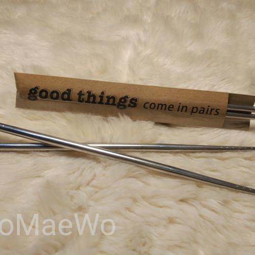 Foto Produk souvenir sumpit stainless custom pernikahan wedding birthday rustic dari GoMaeWo